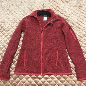 Patagonia Women's Pink and Grey Jacket